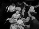 Festive Dinner Photographic Print