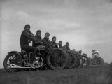 Army Cyclists Photographic Print
