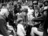 Clapham Chess Photographic Print