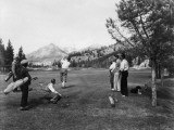 Golf in Canada Photographic Print