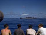 Ship Convoy Photographic Print