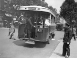 Paris Bus Photographic Print