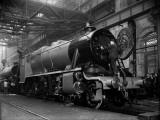 Railway Works Photographic Print