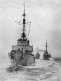 Destroyers Photographic Print