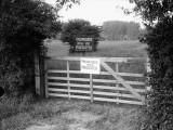 No Trespassing Photographic Print
