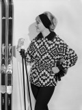 Ski-Jacket Photographic Print by Chaloner Woods