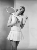 Tennis Dress Photographic Print by Chaloner Woods