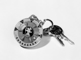 Keyring and Compass Photographic Print by Chaloner Woods