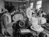 Hat Factory Photographic Print