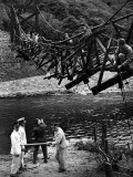Bridge Work Photographic Print