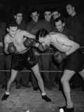 Boxing Bout Photographic Print
