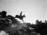 Cavalry Man Photographic Print