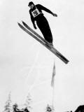 Ski Jump Photographic Print