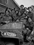 Tank Men Photographic Print