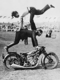Stuntmen Photographic Print