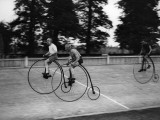 Bike Race Photographic Print