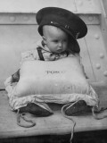 Baby Sailor Photographic Print
