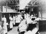 Laundry Workers Photographic Print by Chaloner Woods