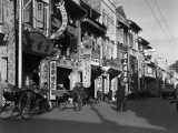 Singapore Street Scene Photographic Print by Charles Phelps Cushing