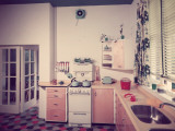 50S Kitchen Photographic Print by Chaloner Woods