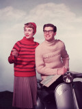 Vespa Chic Photographic Print by Chaloner Woods