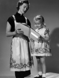 Read With Mother Photographic Print by Chaloner Woods