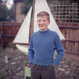 Boy in Blue Photographic Print by Chaloner Woods