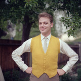 Canary Waistcoat Photographic Print by Chaloner Woods