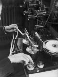 Tickertape Machine Photographic Print by Chaloner Woods