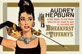 Audrey Hepburn - Breakfast at Tiffany&#39;s Prints
