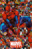 Marvel - Spidey Collage Prints