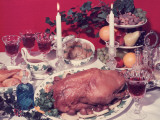 Christmas Dinner Photographic Print by Chaloner Woods
