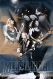 Metallica - Live Collage Poster