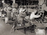 Early 20Th Century Production Line Photographic Print