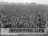 Football Crowd Photographic Print
