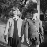 Off To School Photographic Print by Chaloner Woods