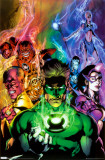 Green Lantern - Blackest Night Posters
