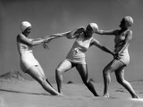 Beach Fight Photographic Print by Chaloner Woods