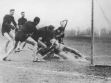 Men Playing Lacrosse Photographie