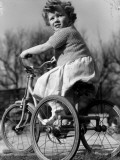 Keen Cyclist Photographic Print by Chaloner Woods