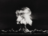 Nuclear Bomb Explosion, Nevada Test, 23rd July 1957 Photographic Print
