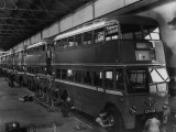 Trolleybus Production Photographic Print