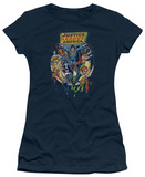 Juniors: Justice League America-Star Group T-shirts