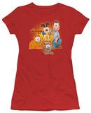 Juniors: Garfield-Say Cheese T-Shirt
