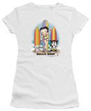 Juniors: Betty Boop-Surfers T-Shirt