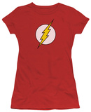 Juniors: DC-Flash Logo Camisetas