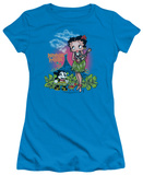 Juniors: Betty Boop-Polynesian Princess Shirts
