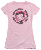 Juniors: Betty Boop-Oop A Doop Shirt