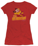 Juniors: Mighty Mouse-I'M Mighty T-shirts