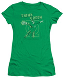Juniors: DC-Think Green T-shirts